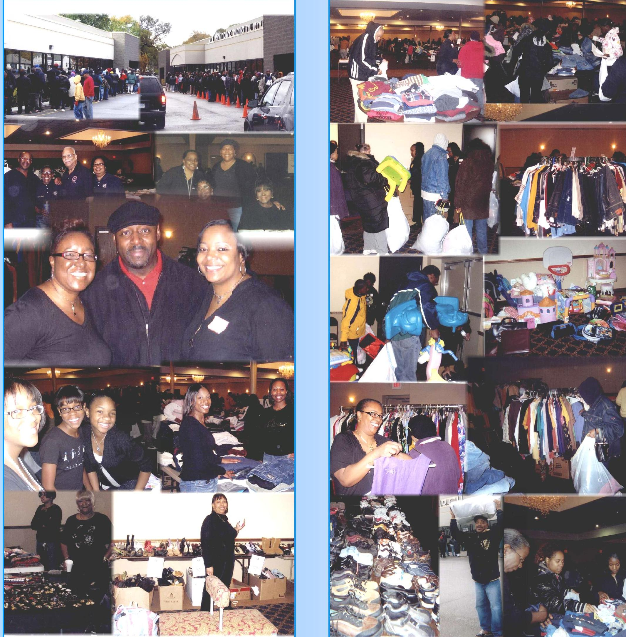 "Detroit: 13TH BI-ANNUAL ""FREE"" CLOTHING, SHOES & MORE GIVEAWAY"