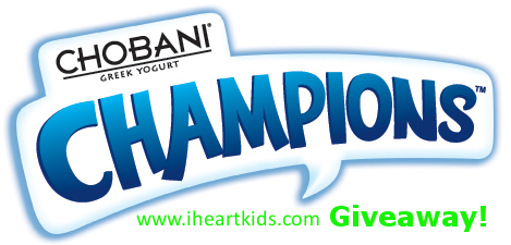Chobani Champions! Delicious Friends and Giveaway!