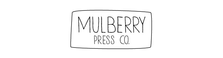 Products: Giveaway with Mulberry Press Co.
